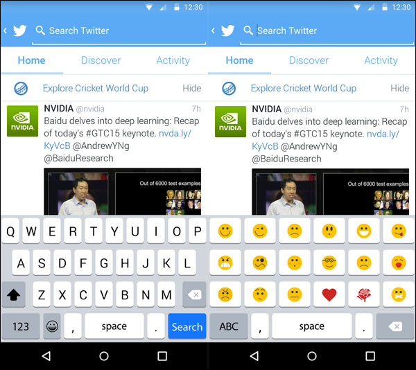 Apple Keyboard Android App