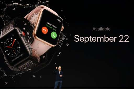Apple claims its smartwatch is now the world's best selling watch, and on Tuesday unveiled an upgraded version with mobile conne