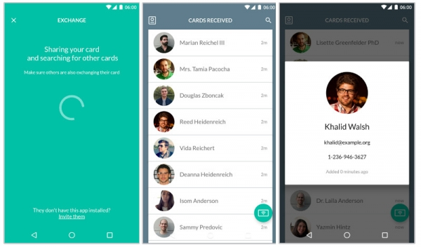 Nearby API Paves the Way for Card Case, a Digital Business Card-Sharing App