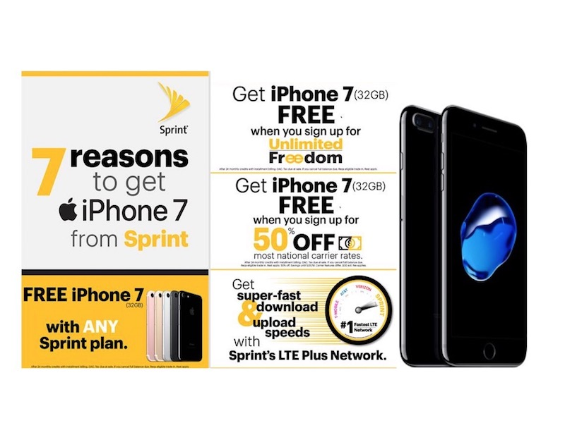 sprint iphone upgrade sprint joins verizon at amp t and t mobile with free iphone 1027