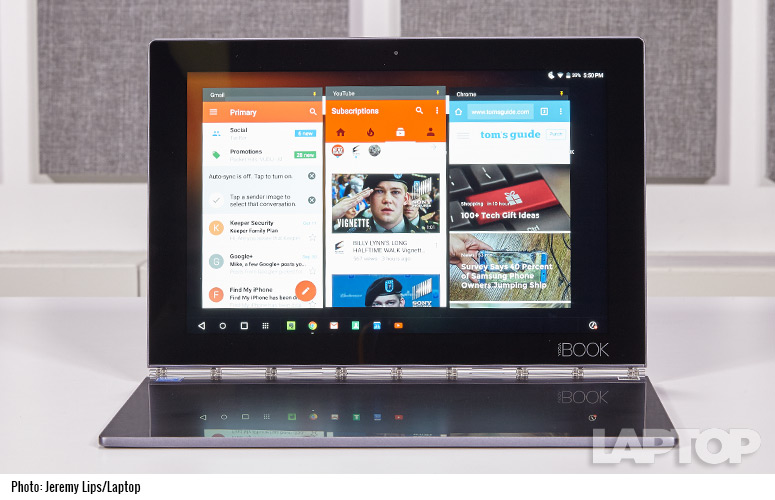 Lenovo Yoga Book Android Review