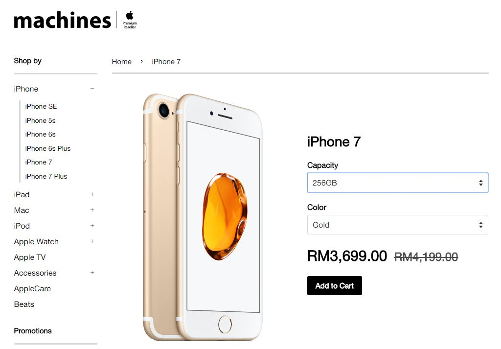 iphone price drop stores drop price of apple iphone 7 and 7 plus by rm500 12157