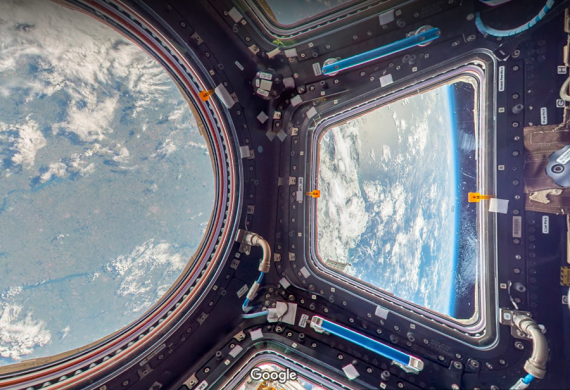 International Space Station Tour Now Possible With Google ...