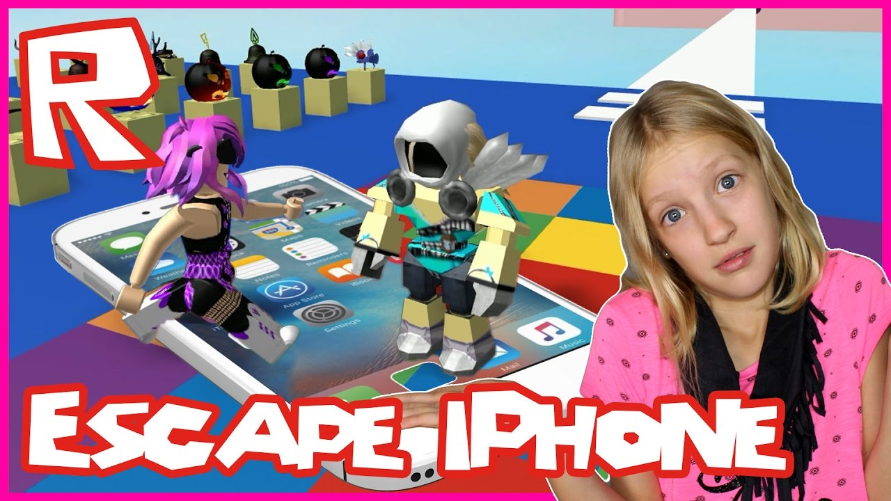 escape the iphone 7 obby    roblox