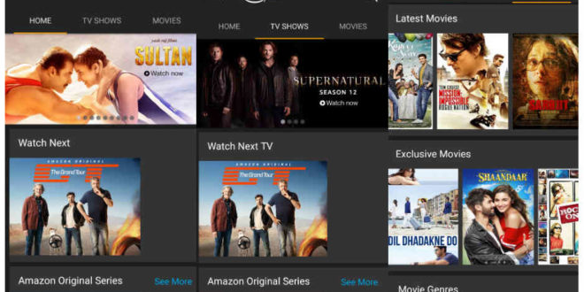 amazon prime for android tv