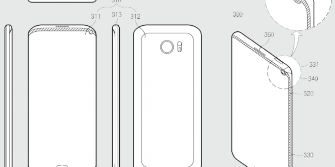 Samsung Patent Application Hints To A Galaxy Smartphone ...