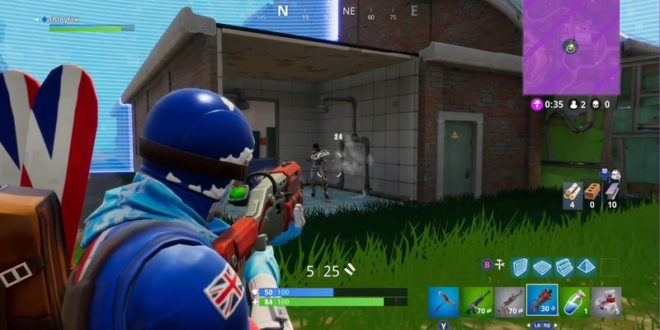 Fortnite For Windows Pc Will Soon Pick Up Cross Play With