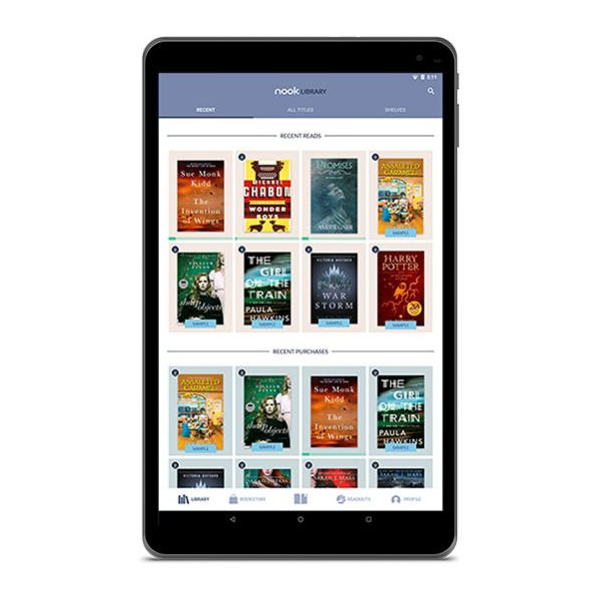 Barnes and Noble announces a new Android-powered NOOK ...
