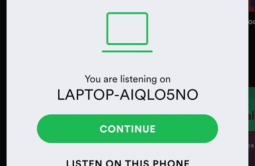 Spotify Connect Windows Phone